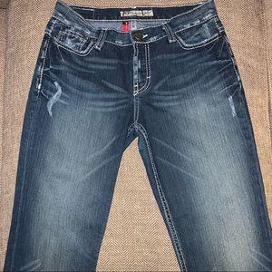 EUC BKE Drew Stretch Boot Jeans Size 27